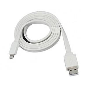 Фото Кабель плоский для зарядки и синхронизации iPhone 5