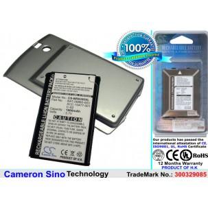 Фото Расширенный аккумулятор для BlackBerry Curve 8300