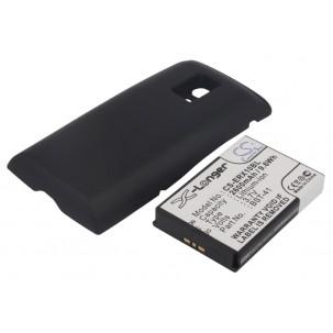 Фото Расширенный аккумулятор для Sony Ericsson Xperia X10 (Чёрный)