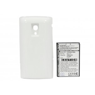 Фото Расширенный аккумулятор для Sony Ericsson Xperia X10 (Белый)