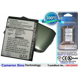 Фото Расширенный аккумулятор для E-TEN glofiish X800