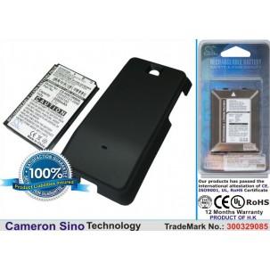 Фото Расширенный аккумулятор для HTC A6262 Hero