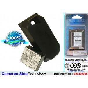 Фото Расширенный аккумулятор для HTC P3700 Touch Diamond
