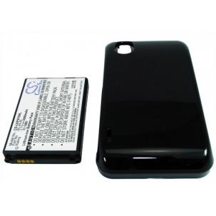 Фото Расширенный аккумулятор для LG P970 Optimus Black