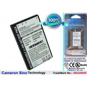 Фото Аккумулятор для Philips Xenium X710