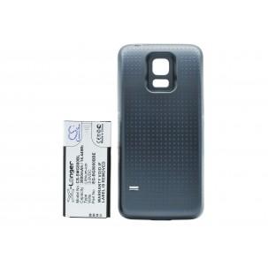 Фото Расширенный аккумулятор для Samsung Galaxy S5 Mini (Чёрный)