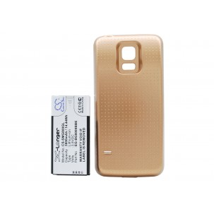Фото Расширенный аккумулятор для Samsung Galaxy S5 Mini (Золотой)