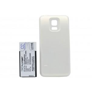 Фото Расширенный аккумулятор для Samsung Galaxy S5 Mini (Перламутровый)