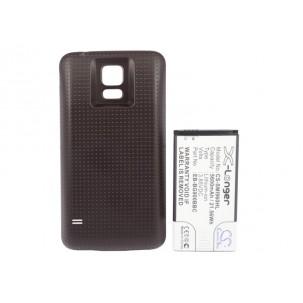 Фото Расширенный аккумулятор для Samsung Galaxy S5 GT-I9600 / Galaxy S V (Коричневый)
