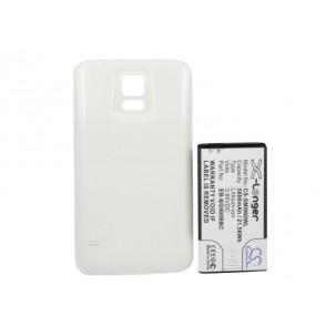 Фото Расширенный аккумулятор для Samsung Galaxy S5 GT-I9600 / Galaxy S V (Белый)