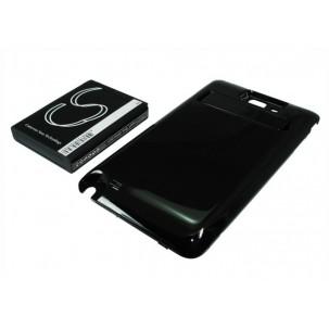 Фото Расширенный аккумулятор для Samsung Galaxy Note N7000 (Чёрный)