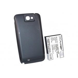 Фото Расширенный аккумулятор для Samsung Galaxy Note 2 GT-N7100 / Galaxy Note II (Синий)
