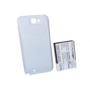 Фото Расширенный аккумулятор для Samsung Galaxy Note 2 GT-N7100 / Galaxy Note II (Белый)