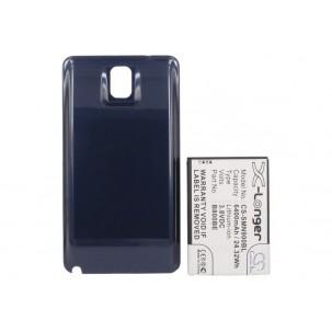 Фото Аккумулятор увеличенной ёмкости для Samsung Galaxy Note 3 / Galaxy Note III (Синий)