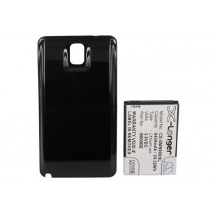 Фото Аккумулятор увеличенной ёмкости для Samsung Galaxy Note 3 / Galaxy Note III (Чёрный)