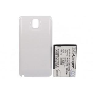 Фото Аккумулятор увеличенной ёмкости для Samsung Galaxy Note 3 / Galaxy Note III (Белый)