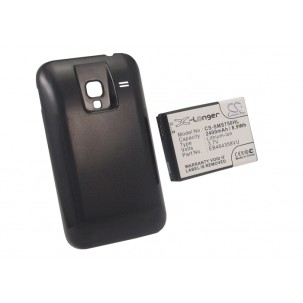 Фото Расширенный аккумулятор для Samsung Galaxy Ace Plus GT-S7500 (Чёрный)