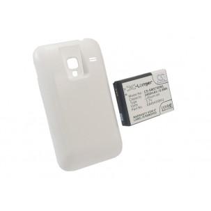 Фото Расширенный аккумулятор для Samsung Galaxy Ace Plus GT-S7500 (Белый)