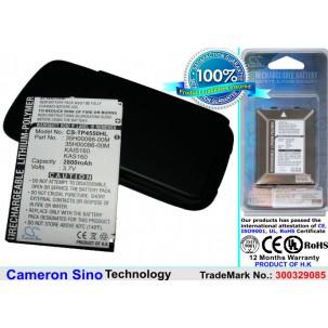 Фото Расширенный аккумулятор для HTC P4550 TyTN II